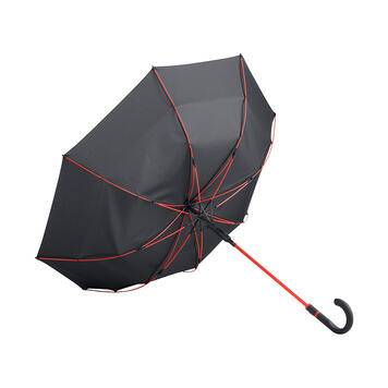 "Midsize Umbrella ""Style"" with coloured stick and rails"