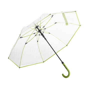 """Umbrella """"Pure"""", in transparent plastic"""