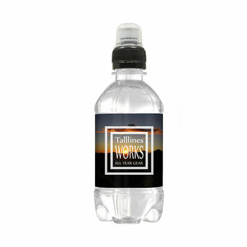 Spring Water 330 ml with Sports Top
