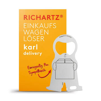 "Richartz Shopping Trolley Remover ""Karl Delivery"""