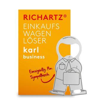 "Shopping Trolley Release Key ""Karl Business"""