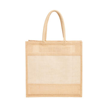 "Shopper ""Native"" in jute and cotton"