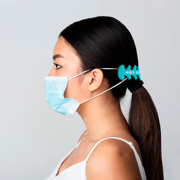"""Hooky"" Holder for Protective Mask"