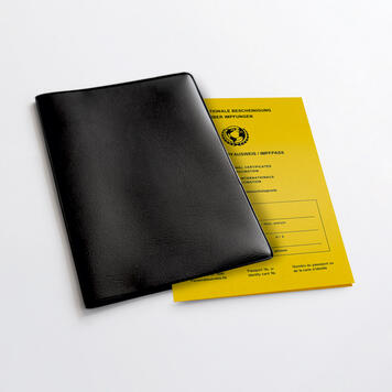 """Vaccination Card Cover """"Compact"""""""
