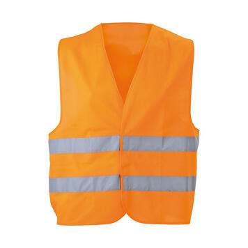 High Visibility Vest with reflective strips for adults