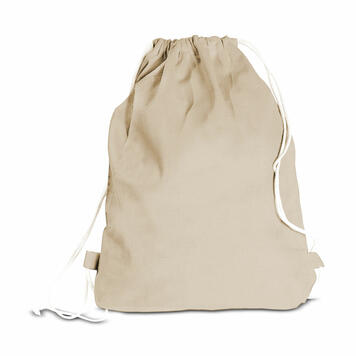 """Cotton Backpack """"Boston"""" with carrying cord"""