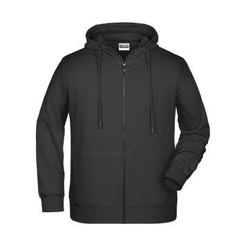 Men's Hooded Sweat Jacket JN 8026