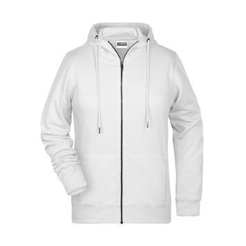 Ladies Hooded Sweat Jacket JN8025