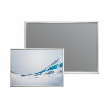 Silver Snap Frame with 15mm Profile & Mitred Corners