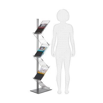 "Leaflet Display Stand ""Zig Zag"""