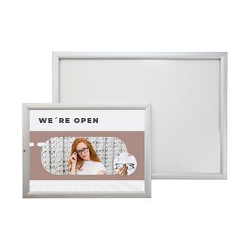 """Waterproof Silver Snap Frame Tamperproof """"Eco 35"""""""