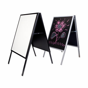 """Poster Stand """"Writable"""""""