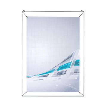 Aluminium Spring-loaded Frame with Crocodile Clips