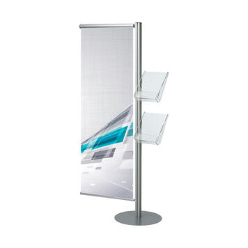 "Banner and Leaflet Stand ""Snap Quattro"""