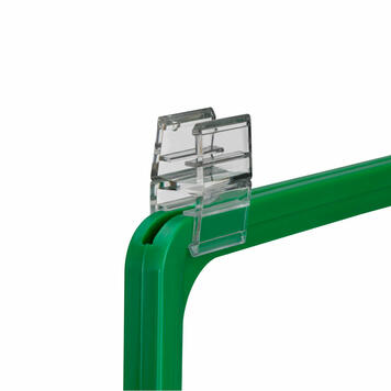 Connecting Clamp to Connect Poster Frames of the Same Size