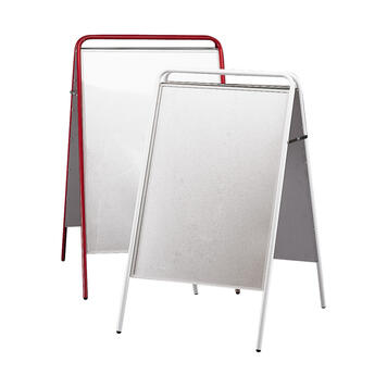 Outdoor Poster Stand, foldable, without header board