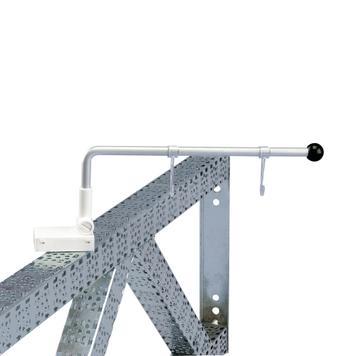 Magnetic Banner Holder, 90° angle