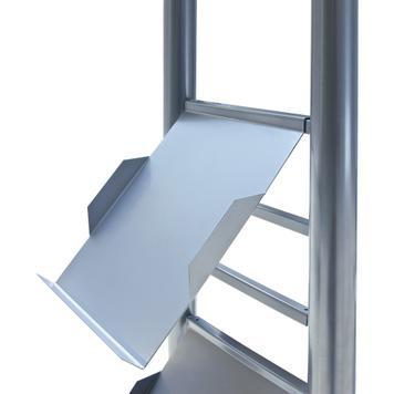 """Steel Leaflet Shelf for Leaflet Column """"Force"""", """"Forcy"""" and """"FT"""""""