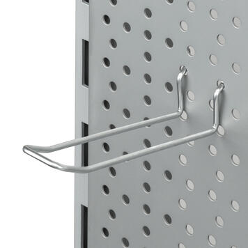 Pegwall Double Hook without Wire Bridge