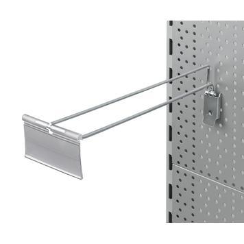 Pegwall Single Hook with Swinging Pocket
