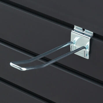 Slatwall Double Hook 100 - 400 mm