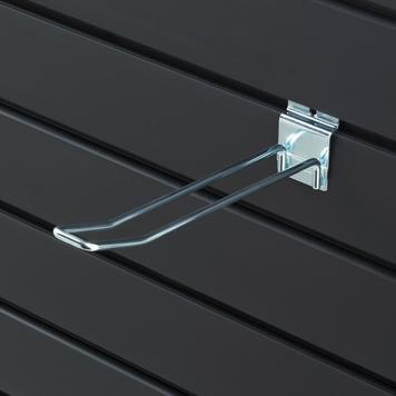 Slatwall Double Hook 100 - 400 mm