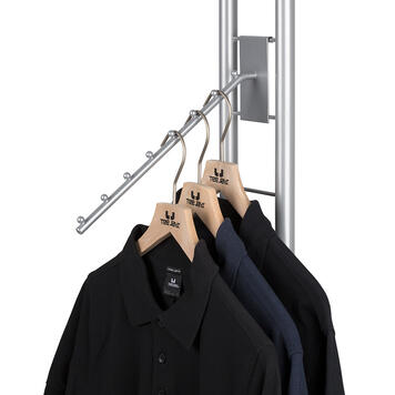 Hanging Arm with Stopper Balls for Tondo Displays
