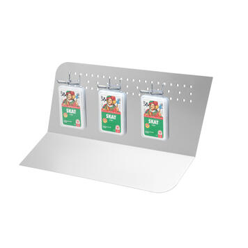 "Pegwall Counter Display ""Step"""