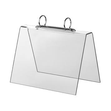 """Acrylic Ring Binder """"Flipover"""""""