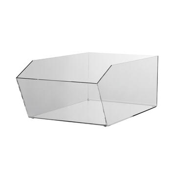 Acrylic Dump Bin, square