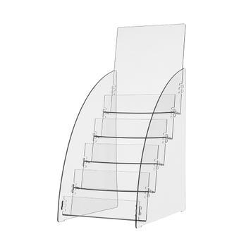 """5-fold Leaflet Dispenser """"Zebrina"""""""