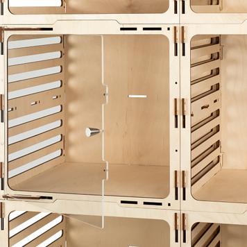 """Shelf Display Element """"Door Nerine"""""""