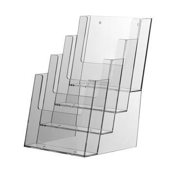 "4 Section Table-Top Leaflet Dispenser ""Universum"""