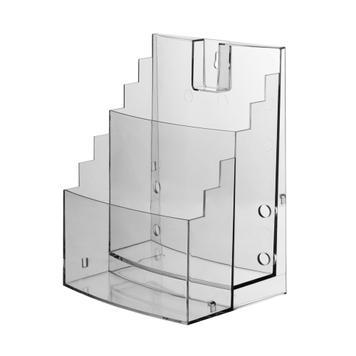 """2-Tier Leaflet Dispenser """"Vicia"""", sideways extendable"""