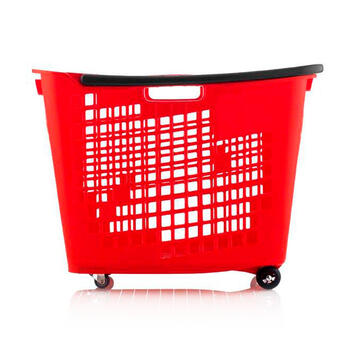 Shopping Basket 55 Litre, to pull