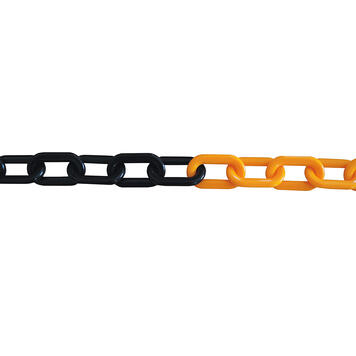 Plastic Chain 9 mm thick, different colours