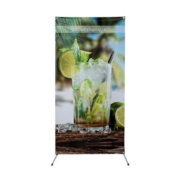 """Digitally Printed Banner for Banner Display """"X"""""""