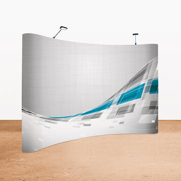 "Digitally Printed Banner for Pop-Up System ""Style"""