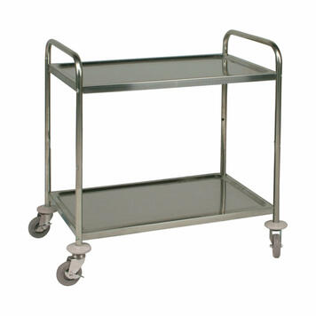 Serving Trolley with 2 Trays