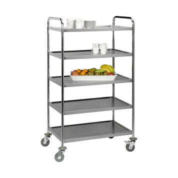 Serving Trolley with 5 Trays