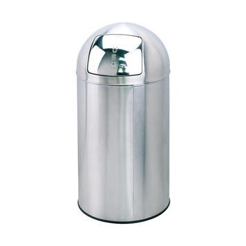 "Waste Bin with ""Push"" Lid"