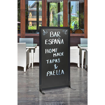 "Chalkboard Partition Wall ""Café"""