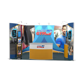 Exhibition Stand ISOframe 3 x 4 Metre