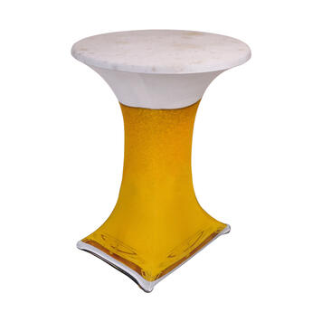 "Bistro Table Cover ""Samba"" Motif: Beer"