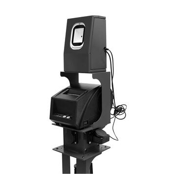 Barcode Scanner with Printer for Barrier Stands