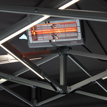 Infrared Heater for Promotional Tent