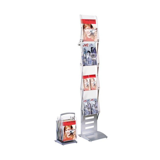 """Portable Folding Leaflet Stand """"Compact"""""""