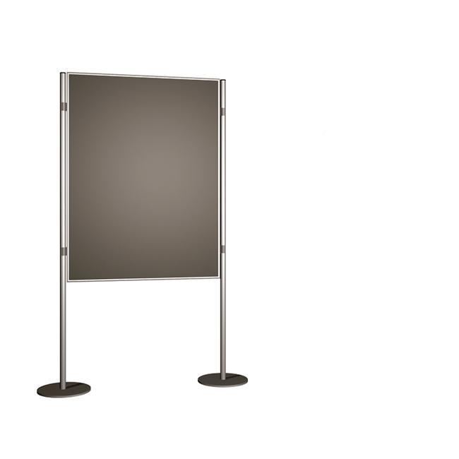 "Display Wall ""Basis"" with Velour Lamination"