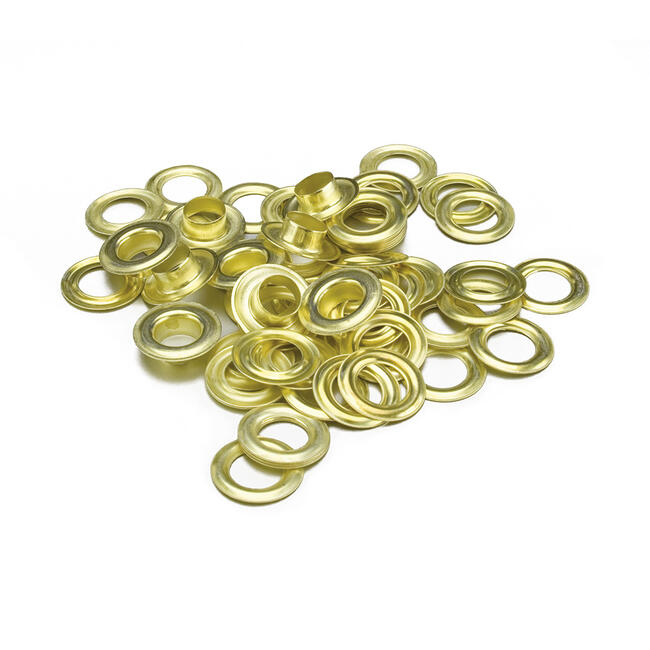 Self-Cutting Eyelets, gold coloured