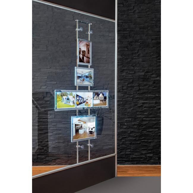 """Window Bracket for Shop Window System """"TS"""""""
